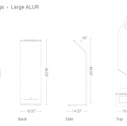 Alur Specifications - Large