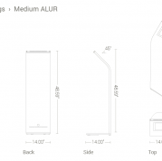 Alur Specifications - Medium
