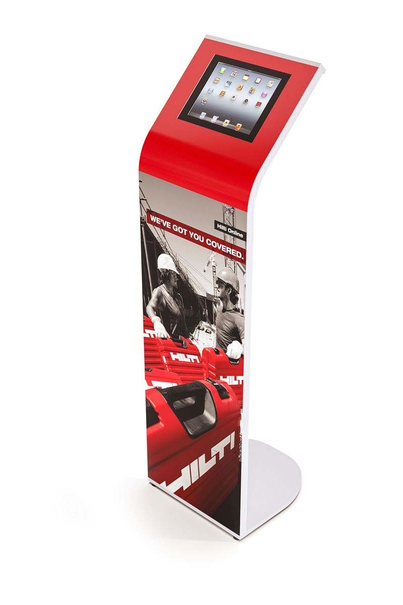 Armodilo Alur Brandable Ipad And Tablet Kiosk Stand And