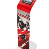 Alur iPad Kiosk Magnetic Graphic Stand Hilti