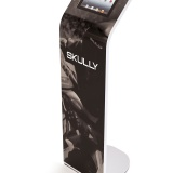 Alur iPad Kiosk Magnetic Graphic Stand Skully