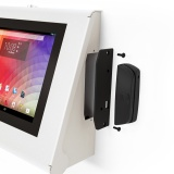 Armodilo Keyo Tablet iPad Kiosk Secure SkyWhite Dynamag Exploded 1200x1200