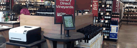 Using tablets and iPads in retail stores