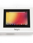 Armodilo Keyo Tablet Kiosks - Wall or Surface Secure Tablet Enclosure