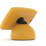 The Armodilo Original Sphere secure locking tablet and iPad POS stand in Sunkissed.