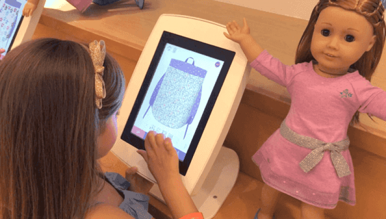 AmericanGirl Armodilo Case Study iPad Tablet Kiosk Enclosure