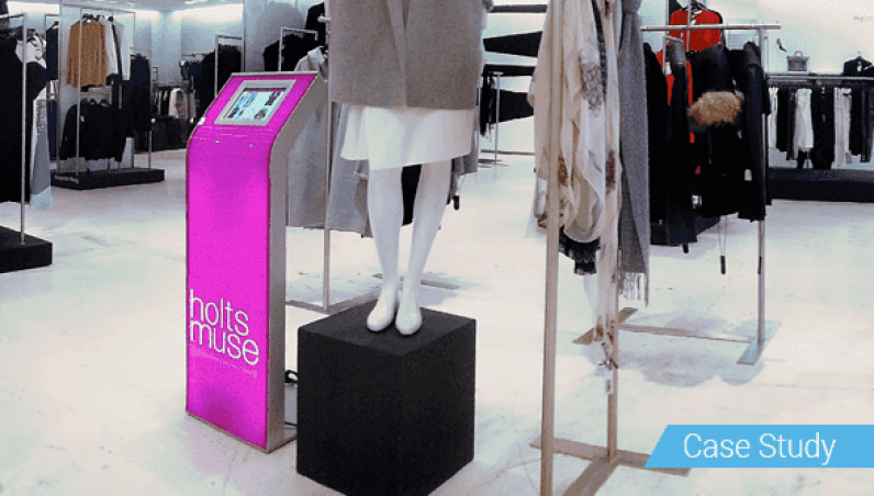 HoltRenfrew Armodilo Case Study iPad Tablet Kiosk Enclosure