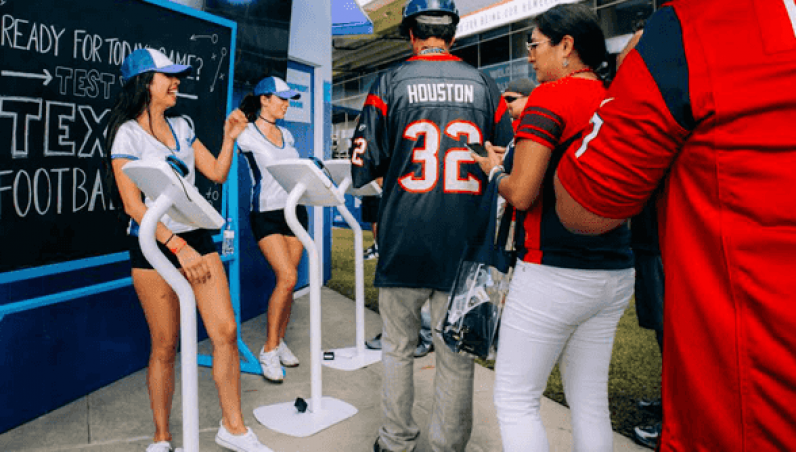HoustonTexans Armodilo Case Study iPad Tablet Kiosk Enclosure