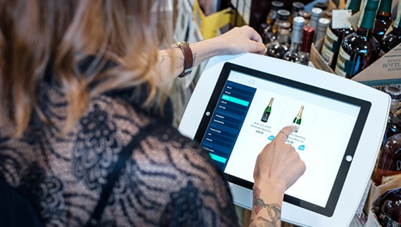 Macs Beer Wine And Spirits iPad Tablet Kiosk 4