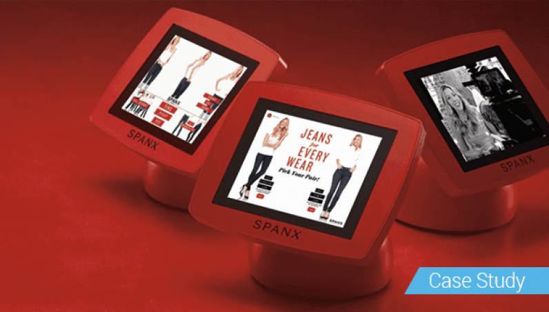 Spanx Armodilo Case Study iPad Tablet Kiosk Enclosure