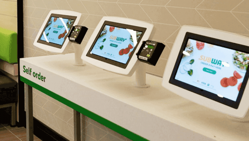 Subway Armodilo Case Study iPad Tablet Kiosk Enclosure