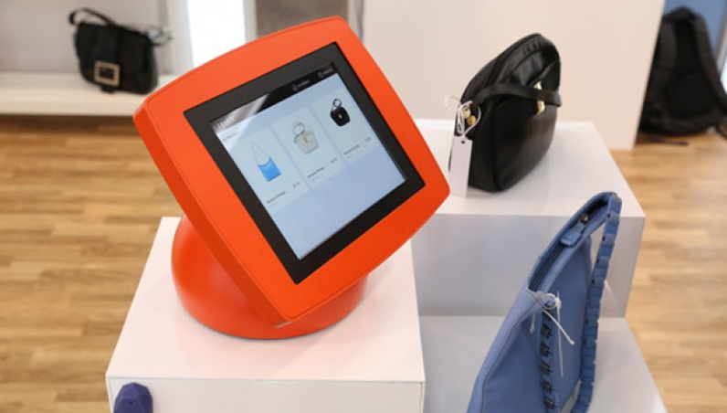 Third Shelf iPad Tablet Kiosk 7