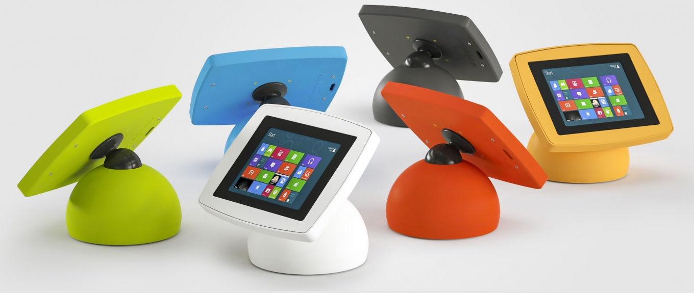 Armodilo Original Sphere Desktop Tablet And Ipad Kiosk